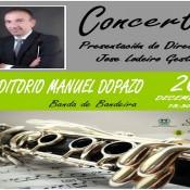 Cartel concerto presentación do Director - 497X385