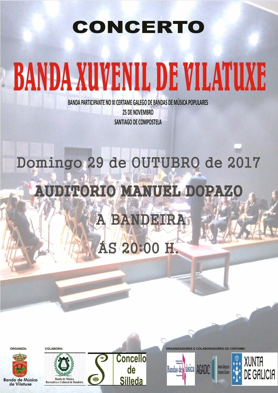 CARTEL BANDA DE VILATUXE